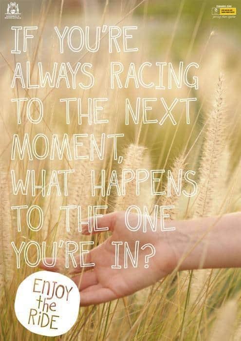 'Always racing to the next moment. What happens to the one you're in? Mijn Reconnection ervaring laat zien dat je steeds meer in het nu leven gaat. Zo krijg je de regie weer terug.