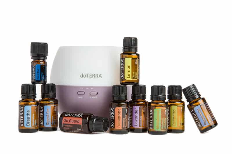 doterra Home essentials Kit met diffuser, de meest voordelige en fijne manier om met een natuurlijke leefstijl te starten ondersteund door 100% pure essentiële oliën.