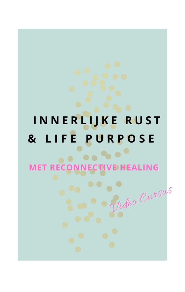 Logo 2 gratis video cursus Meer Innerlijke Rust en Zelfverwerkelijking met Reconnective healing. In deze cursus deel ik mijn reconnective healing ervaring op een leuke en inspirerende manier
